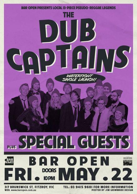 Bar Open 22 May 2015 - Watertight launch